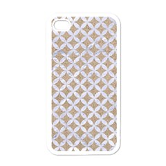 Circles3 White Marble & Sand Apple Iphone 4 Case (white)