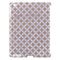 Circles3 White Marble & Sand Apple Ipad 3/4 Hardshell Case (compatible With Smart Cover)