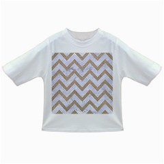 Chevron9 White Marble & Sand (r) Infant/toddler T Shirts