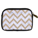 CHEVRON9 WHITE MARBLE & SAND (R) Digital Camera Cases Back