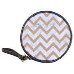 CHEVRON9 WHITE MARBLE & SAND (R) Classic 20-CD Wallets Front