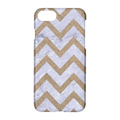 Chevron9 White Marble & Sand (r) Apple Iphone 7 Hardshell Case