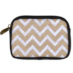 CHEVRON9 WHITE MARBLE & SAND Digital Camera Cases Front