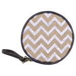 CHEVRON9 WHITE MARBLE & SAND Classic 20-CD Wallets Front