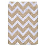 CHEVRON9 WHITE MARBLE & SAND Flap Covers (L)  Front