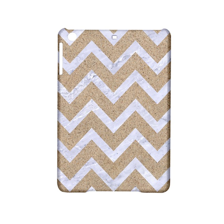 CHEVRON9 WHITE MARBLE & SAND iPad Mini 2 Hardshell Cases