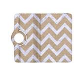 CHEVRON9 WHITE MARBLE & SAND Kindle Fire HDX 8.9  Flip 360 Case Front