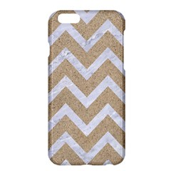 Chevron9 White Marble & Sand Apple Iphone 6 Plus/6s Plus Hardshell Case