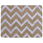 CHEVRON9 WHITE MARBLE & SAND Jigsaw Puzzle Photo Stand (Rectangular) Front