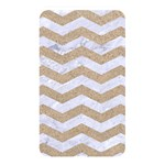 CHEVRON3 WHITE MARBLE & SAND Memory Card Reader Front
