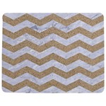 CHEVRON3 WHITE MARBLE & SAND Jigsaw Puzzle Photo Stand (Rectangular) Front