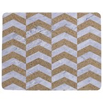 CHEVRON2 WHITE MARBLE & SAND Jigsaw Puzzle Photo Stand (Rectangular) Front