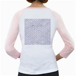 BRICK2 WHITE MARBLE & SAND (R) Girly Raglans Back