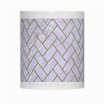 BRICK2 WHITE MARBLE & SAND (R) White Mugs Center