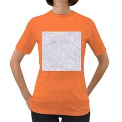 Brick2 White Marble & Sand (r) Women s Dark T Shirt