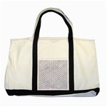 BRICK2 WHITE MARBLE & SAND (R) Two Tone Tote Bag Front