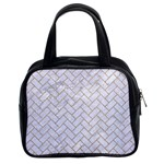 BRICK2 WHITE MARBLE & SAND (R) Classic Handbags (2 Sides) Front