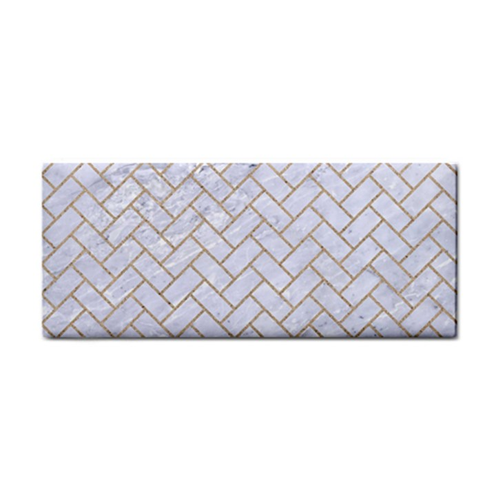 BRICK2 WHITE MARBLE & SAND (R) Cosmetic Storage Cases