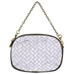 BRICK2 WHITE MARBLE & SAND (R) Chain Purses (One Side)  Front