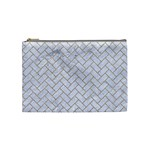 BRICK2 WHITE MARBLE & SAND (R) Cosmetic Bag (Medium)  Front