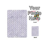 BRICK2 WHITE MARBLE & SAND (R) Playing Cards 54 (Mini)  Back