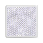 BRICK2 WHITE MARBLE & SAND (R) Memory Card Reader (Square)  Front
