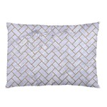 BRICK2 WHITE MARBLE & SAND (R) Pillow Case (Two Sides) Front