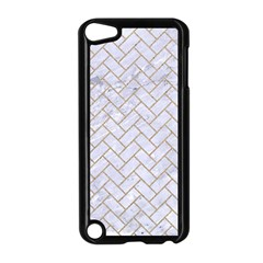 Brick2 White Marble & Sand (r) Apple Ipod Touch 5 Case (black)