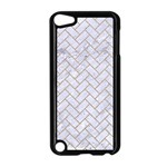 BRICK2 WHITE MARBLE & SAND (R) Apple iPod Touch 5 Case (Black) Front