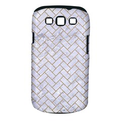 Brick2 White Marble & Sand (r) Samsung Galaxy S Iii Classic Hardshell Case (pc+silicone)
