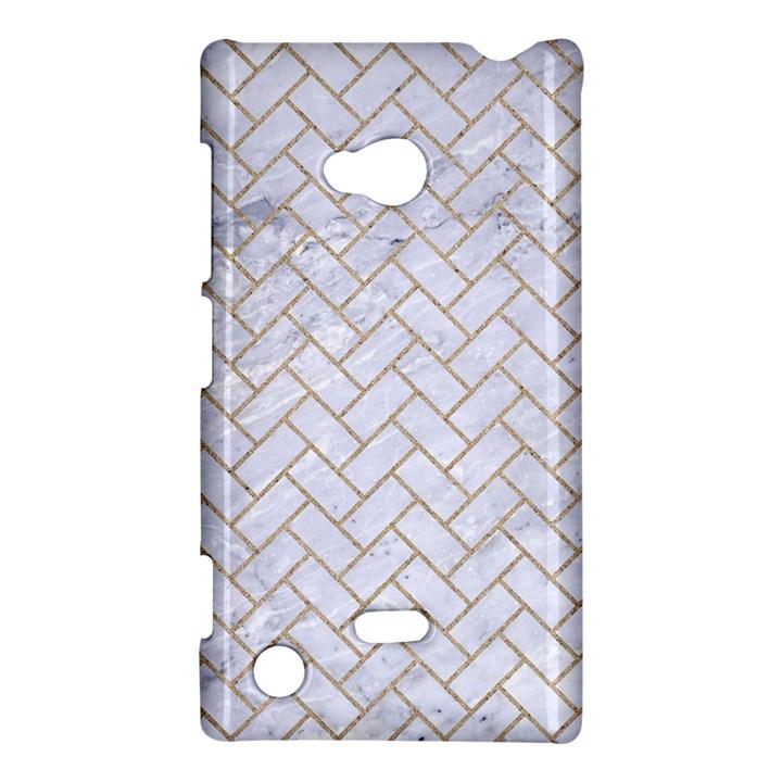 BRICK2 WHITE MARBLE & SAND (R) Nokia Lumia 720