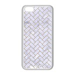 BRICK2 WHITE MARBLE & SAND (R) Apple iPhone 5C Seamless Case (White) Front