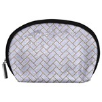BRICK2 WHITE MARBLE & SAND (R) Accessory Pouches (Large)  Front