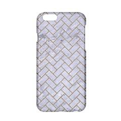 Brick2 White Marble & Sand (r) Apple Iphone 6/6s Hardshell Case