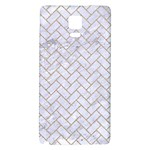 BRICK2 WHITE MARBLE & SAND (R) Galaxy Note 4 Back Case Front
