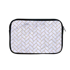 Brick2 White Marble & Sand (r) Apple Macbook Pro 13  Zipper Case