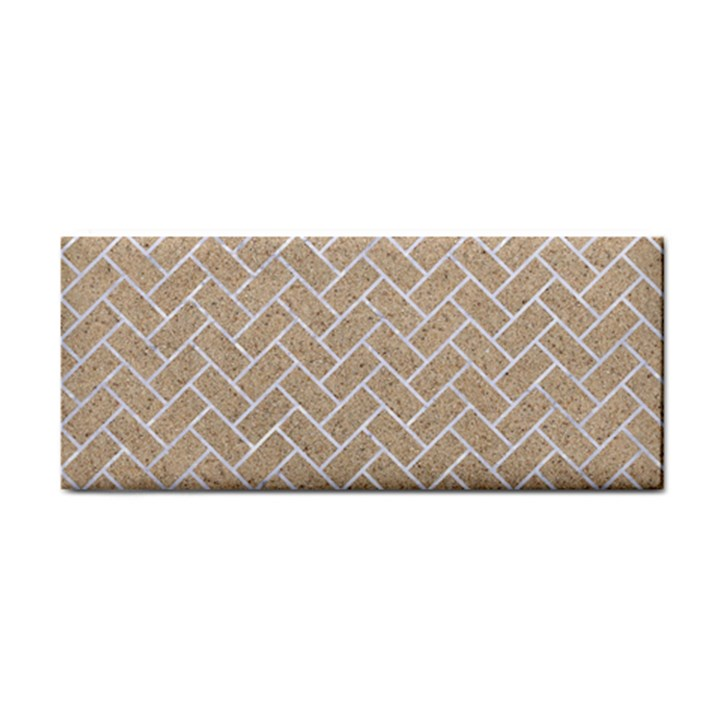 BRICK2 WHITE MARBLE & SAND Cosmetic Storage Cases