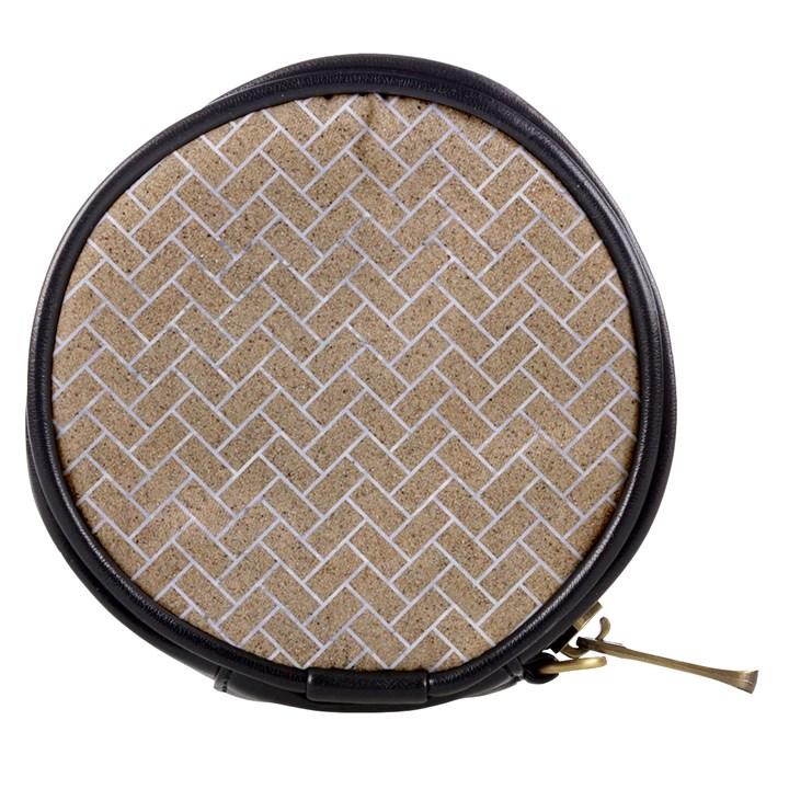 BRICK2 WHITE MARBLE & SAND Mini Makeup Bags