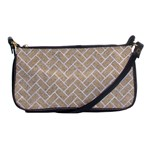 BRICK2 WHITE MARBLE & SAND Shoulder Clutch Bags Front