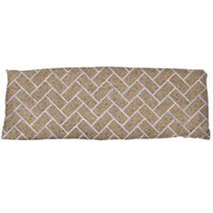 Brick2 White Marble & Sand Body Pillow Case Dakimakura (two Sides)