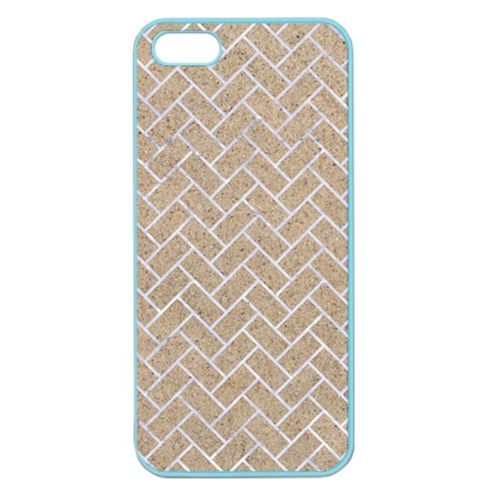 BRICK2 WHITE MARBLE & SAND Apple Seamless iPhone 5 Case (Color)