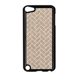 BRICK2 WHITE MARBLE & SAND Apple iPod Touch 5 Case (Black) Front