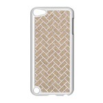 BRICK2 WHITE MARBLE & SAND Apple iPod Touch 5 Case (White) Front