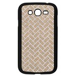 BRICK2 WHITE MARBLE & SAND Samsung Galaxy Grand DUOS I9082 Case (Black) Front
