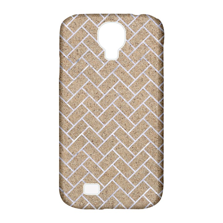 BRICK2 WHITE MARBLE & SAND Samsung Galaxy S4 Classic Hardshell Case (PC+Silicone)