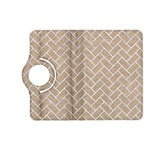 BRICK2 WHITE MARBLE & SAND Kindle Fire HD (2013) Flip 360 Case Front