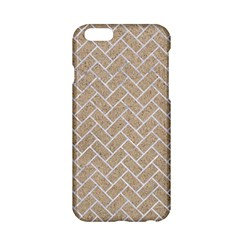 Brick2 White Marble & Sand Apple Iphone 6/6s Hardshell Case
