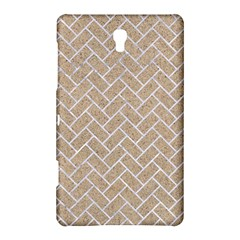 Brick2 White Marble & Sand Samsung Galaxy Tab S (8 4 ) Hardshell Case