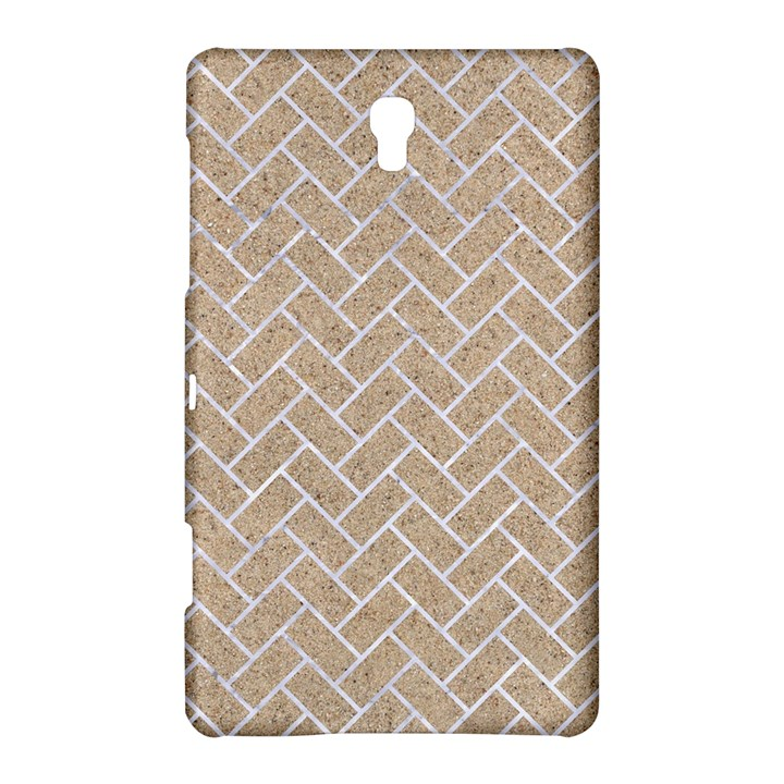 BRICK2 WHITE MARBLE & SAND Samsung Galaxy Tab S (8.4 ) Hardshell Case
