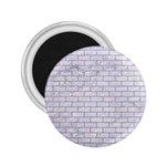 BRICK1 WHITE MARBLE & SAND (R) 2.25  Magnets Front
